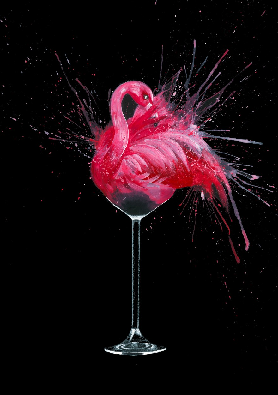 Flamingotini