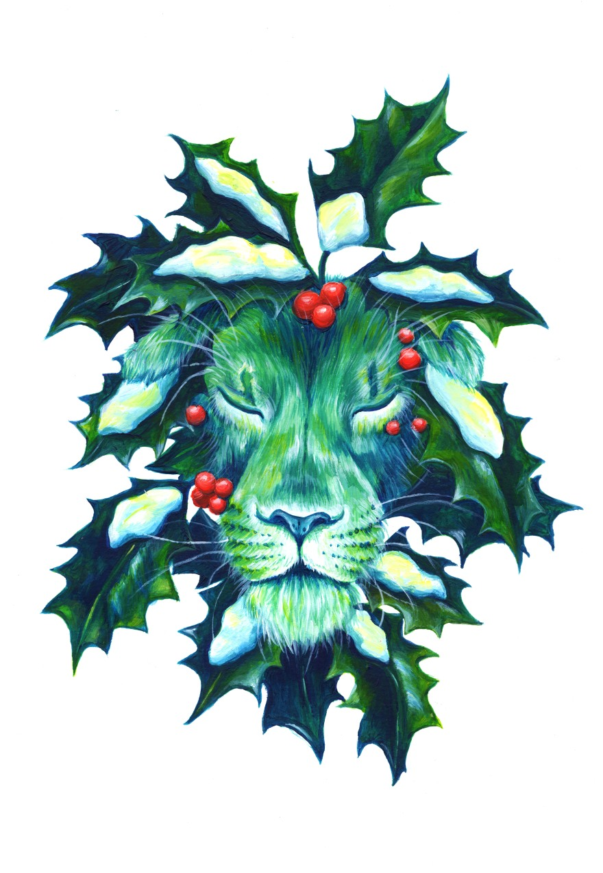 Winter lion (ARTWORK)
