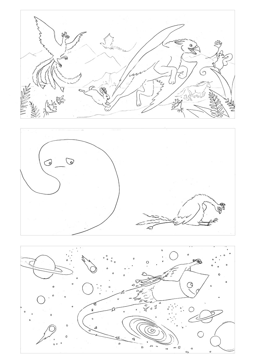 Yuliya Pankratova - When Nothing Came to Play - roughs.jpg