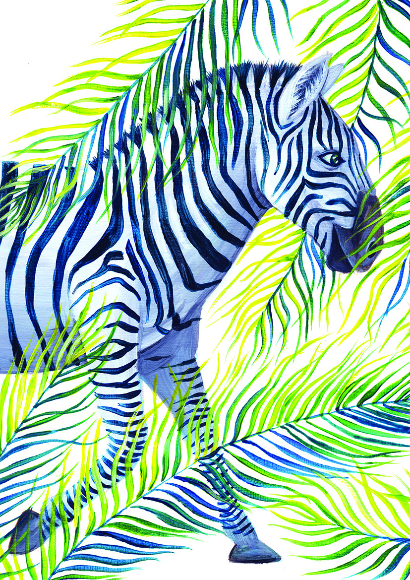 Zebra illustration Just So Yuliya Pankratova.jpg