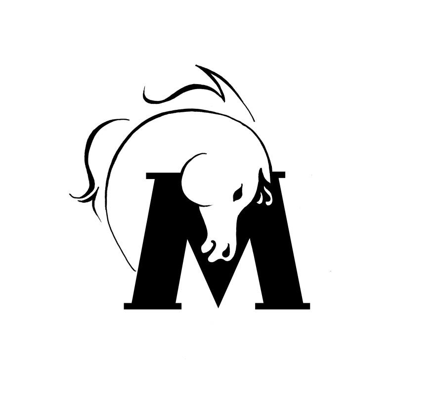 Horse MPulse logo design - Yuliya Pankratova