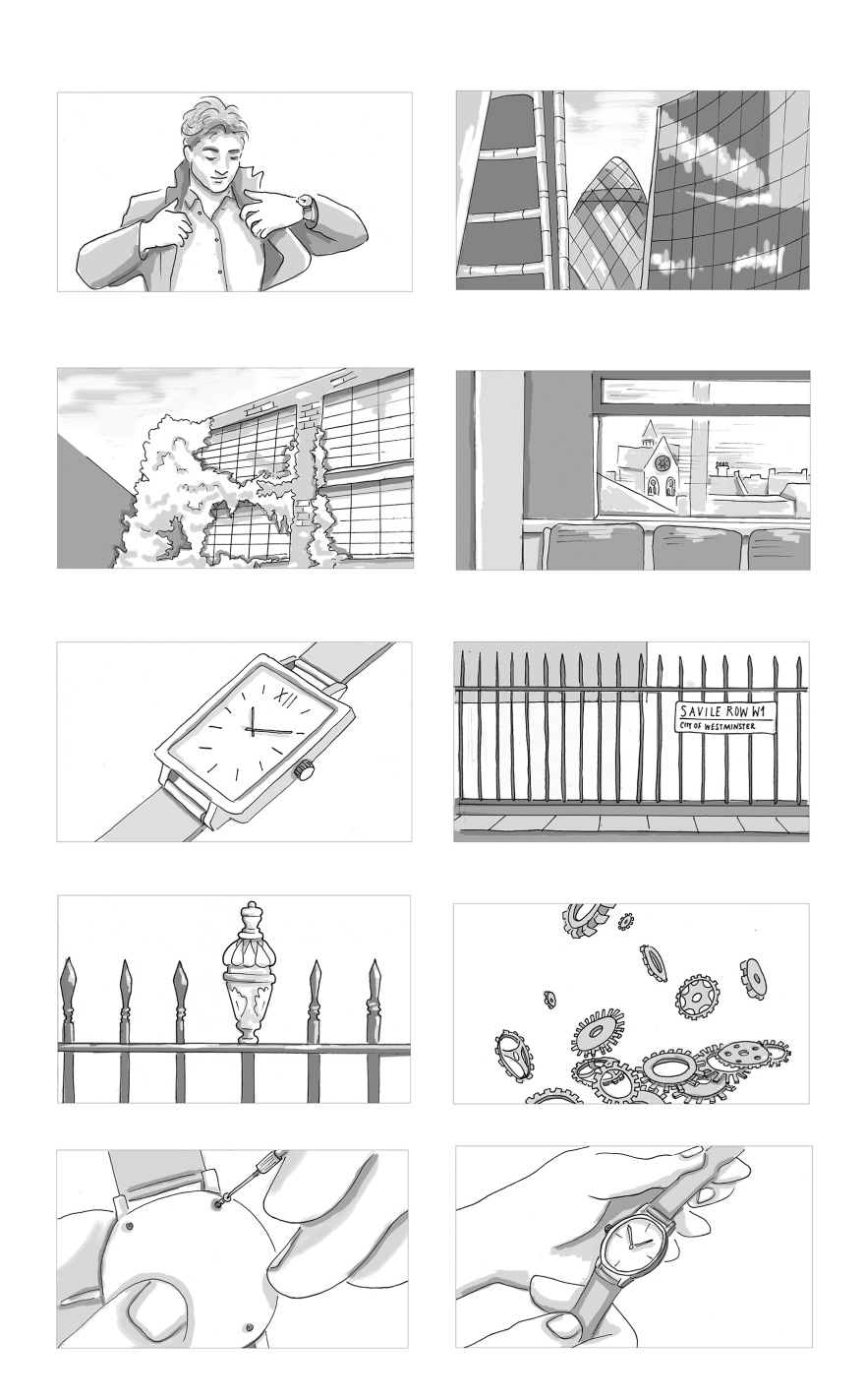 storyboard artist – Yuliya Pankratova Illustration