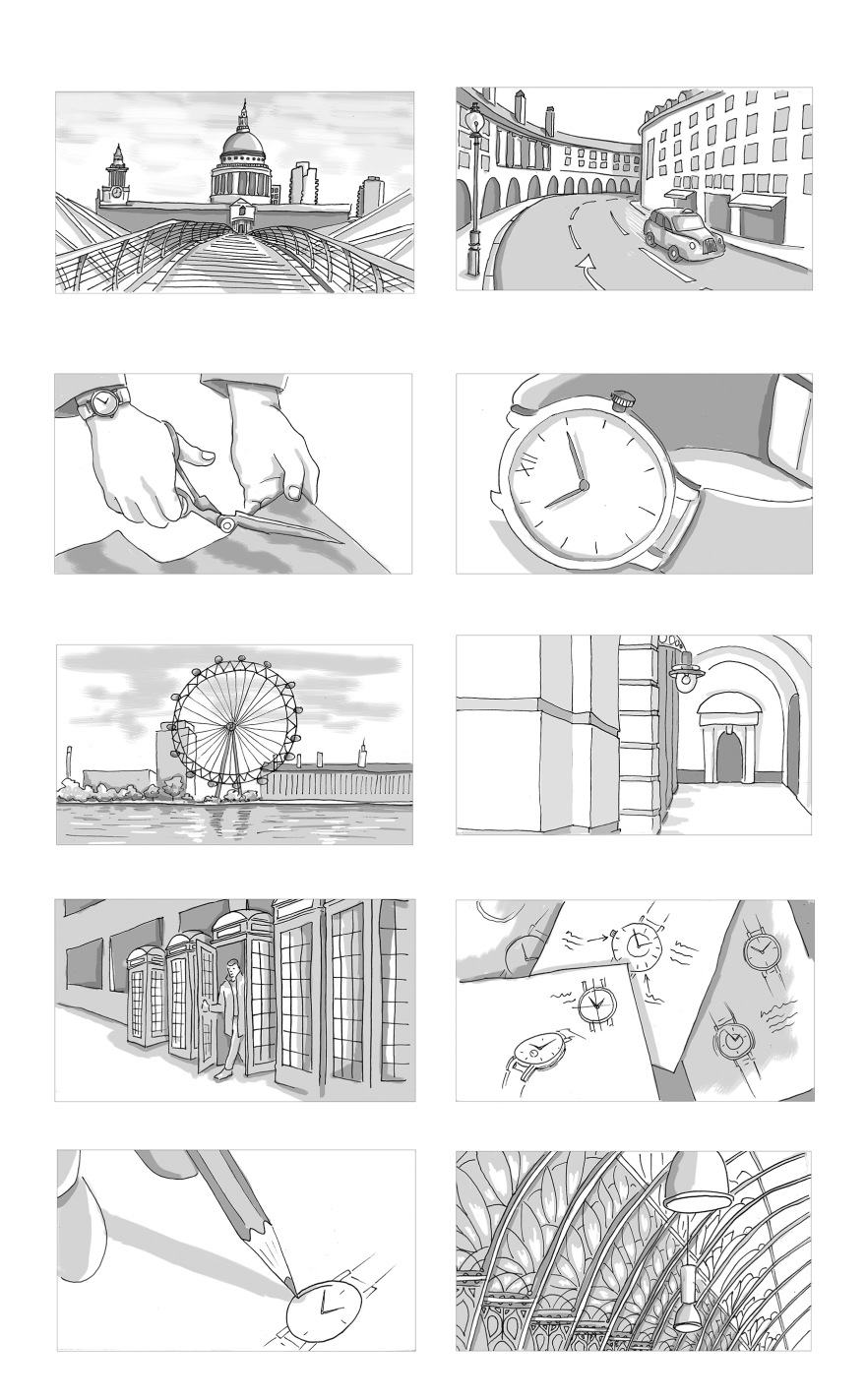 Larson and Jennings Storyboards