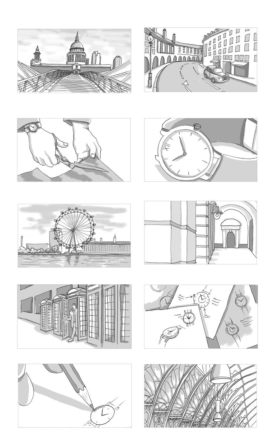 storyboard artist – Yuliya Pankratova Illustration