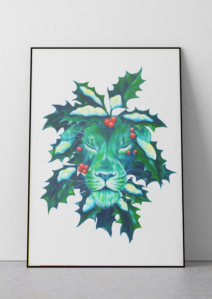Lion poster - Yuliya Pankratova.jpg
