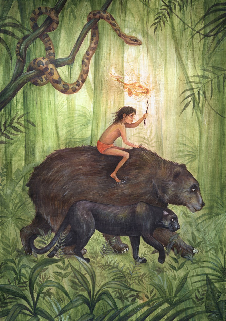 Yuliya Pankratova_the jungle book_Mowgli 2.jpg